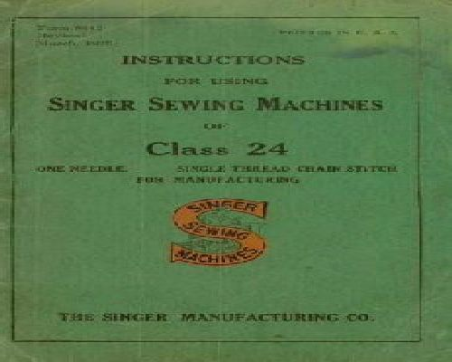 two in one sewing machine instructions