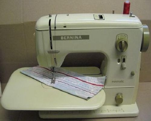Bernina sewing machine instructions for Machine a coudre 217